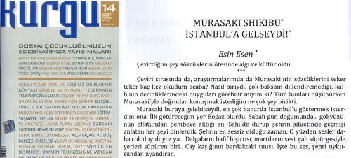 Murasaki Shikibu İstanbulda- Esin ESEN